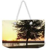 Mississippi Sunset 13 Weekender Tote Bag