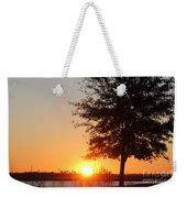 Mississippi Sunset 4 Weekender Tote Bag