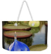 Missouri Botanical Garden Six Glass Spheres And Lilly Pads Img 2464 Weekender Tote Bag