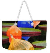 Missouri Botanical Garden Six Glass Spheres And Lilly Pads Img 5490 Weekender Tote Bag