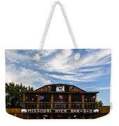 Missouri Hick Bbq Weekender Tote Bag