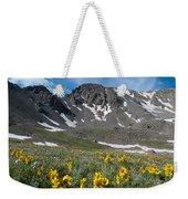 Missouri Mountain And Wildflower Landscape Weekender Tote Bag