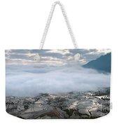 Mist And Cloud Weekender Tote Bag