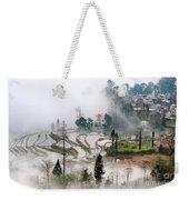 Mist And Village Weekender Tote Bag