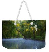 Mist On The Wissahickon Weekender Tote Bag