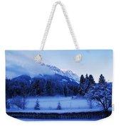 Mist Over Alps Weekender Tote Bag