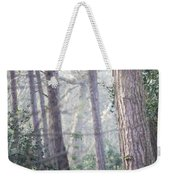 Mist Through The Trees Weekender Tote Bag