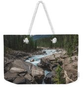 Mistaya River And Canyon Weekender Tote Bag