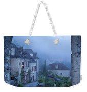 Misty Dawn In Saint Cirq Lapopie Weekender Tote Bag by Brian Jannsen