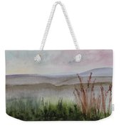 Misty Day In Nek Weekender Tote Bag