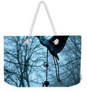 Misty Egret Weekender Tote Bag