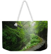 Misty Evening At Watkins Glen Weekender Tote Bag