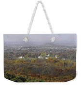 Misty Fall Pano Of The Shenandoah Valley Weekender Tote Bag