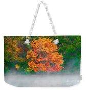 Misty Fall Tree Weekender Tote Bag
