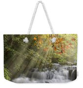 Misty Falls At Coker Creek Weekender Tote Bag