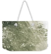 Misty Forest Weekender Tote Bag