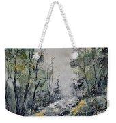 Misty Forest Weekender Tote Bag