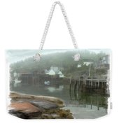Misty Harbor Weekender Tote Bag