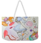 Misty Kay In Wonderland Weekender Tote Bag
