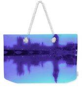 Misty London Reflection Weekender Tote Bag