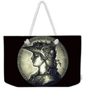 Misty Midnight Black Marianne Weekender Tote Bag