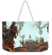 Misty Morn On Planet X Weekender Tote Bag