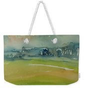 Misty Morning, 1981 Wc On Paper Weekender Tote Bag