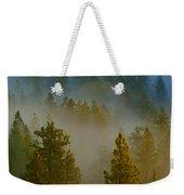 Misty Morning In The Pines Weekender Tote Bag