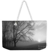 Misty Morning Weekender Tote Bag