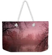 Misty Morning Light Weekender Tote Bag