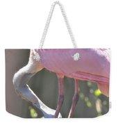 Misty Morning Spoonbill Weekender Tote Bag