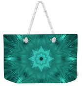 Misty Morning Star Bloom Weekender Tote Bag