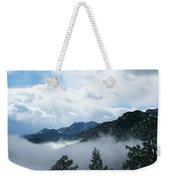 Misty Mountain Colorado Weekender Tote Bag