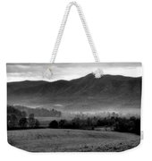 Misty Mountain Morning Weekender Tote Bag by Dan Sproul