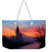 Misty Mountain Morning Weekender Tote Bag