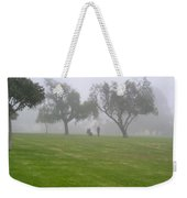Ghostly Mist Weekender Tote Bag