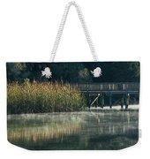 Misty Pond Weekender Tote Bag