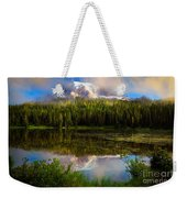 Misty Reflection Weekender Tote Bag