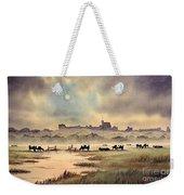 Misty Sunrise - Windsor Meadows Weekender Tote Bag
