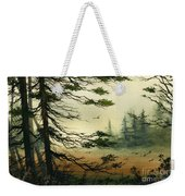 Misty Tideland Forest Weekender Tote Bag by James Williamson