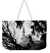 Misty View Of Monserrate Church Weekender Tote Bag