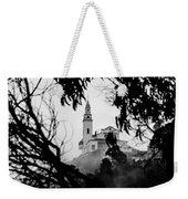 Misty View Of Monserrate Church Weekender Tote Bag