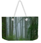 Misty Woodland Weekender Tote Bag