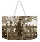 Mitchell Motorcycle Circa 1907 Weekender Tote Bag