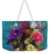 Mixed Bouquet Weekender Tote Bag