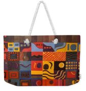Mixed Emotions Weekender Tote Bag