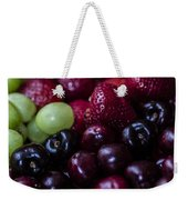 Mixed Fruit Weekender Tote Bag