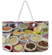 Mixed Spices In Market Of Cairo Egypt Weekender Tote Bag