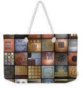 Mixed Up Weekender Tote Bag