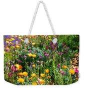 Mixed Wildflowers Weekender Tote Bag